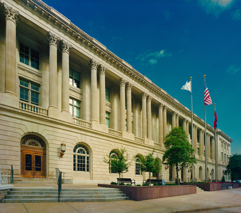 Located in the heart of downtown Memphis, the law school is in the center of the legal community.