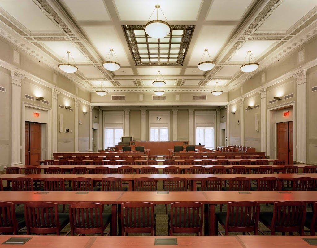 The restored Federal Courtroom.