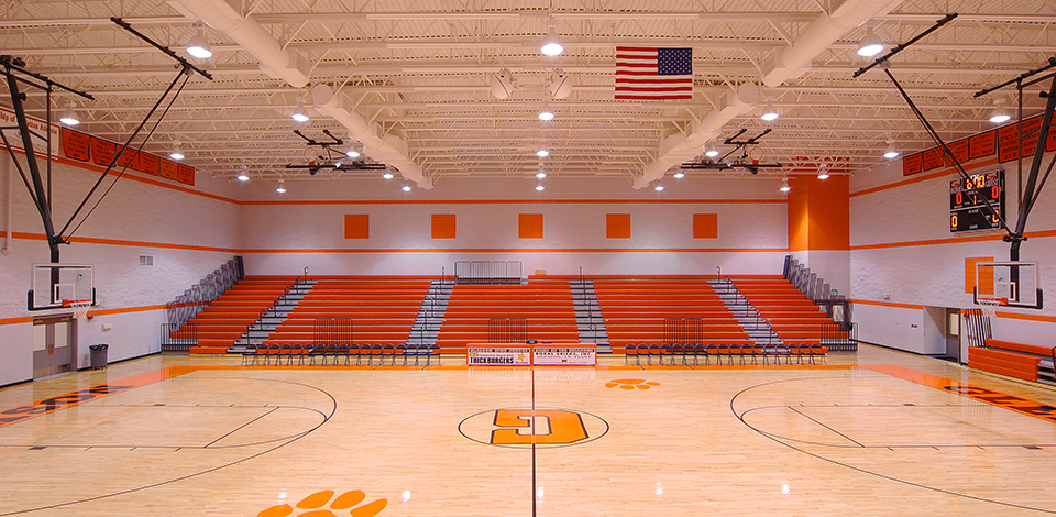 Fleming architects memphis architect interior design for Basketball gym designs and layout